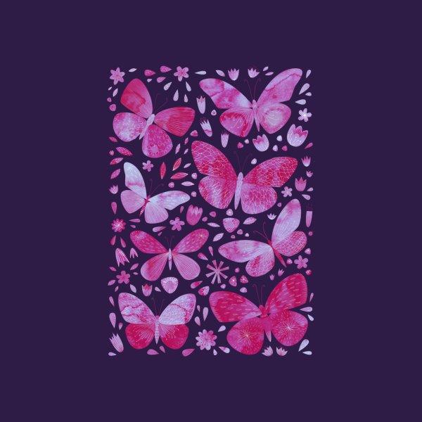 image for Pink Butterflies Dark