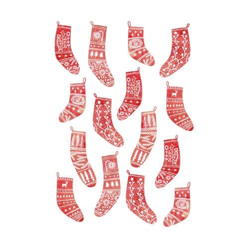 Design for Nordic Christmas Stockings