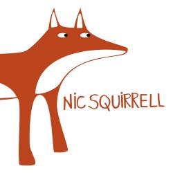 Nicsquirrell Logo