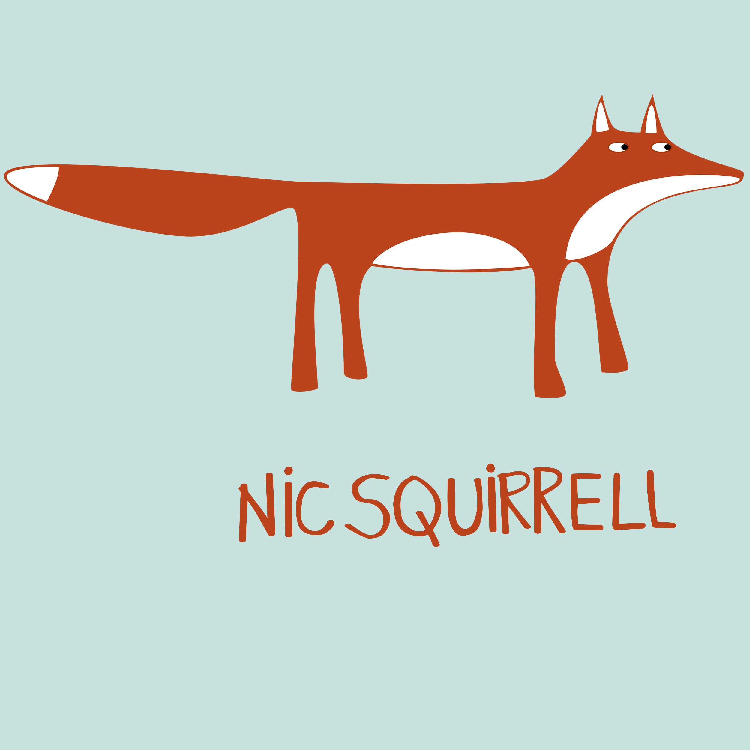Logo for Nic Squirrell