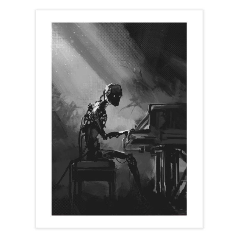 Play Me a Song Home Fine Art Print by NinjaJo's Artist Shop