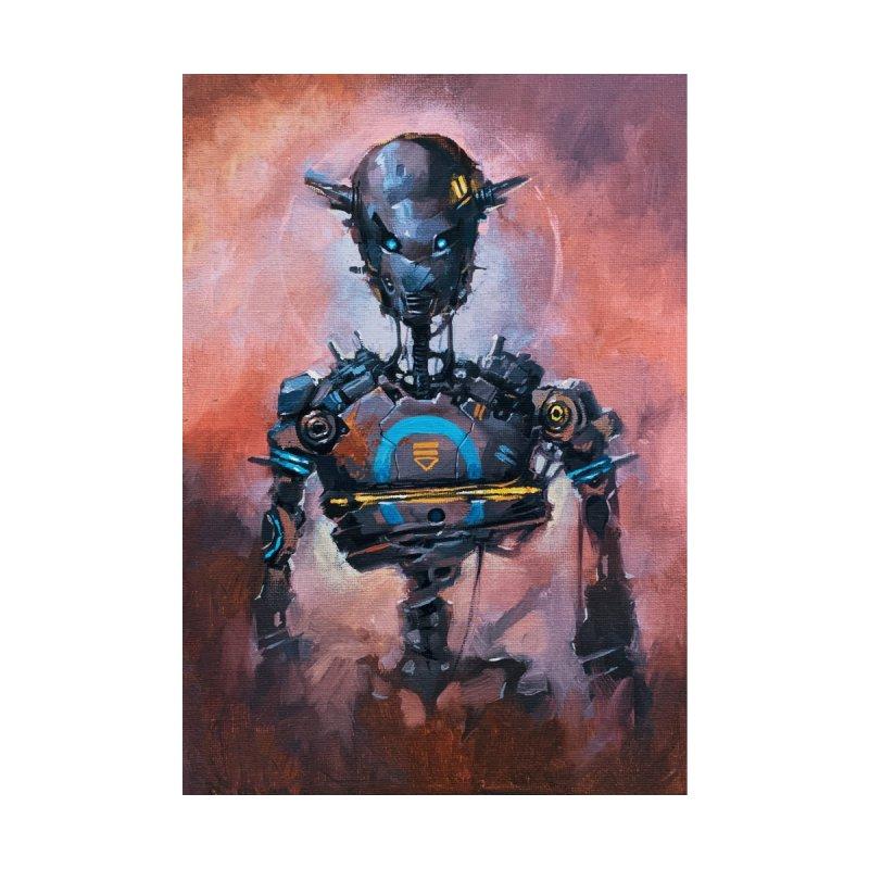 Oil Bot 03 Home Fine Art Print by NinjaJo's Artist Shop