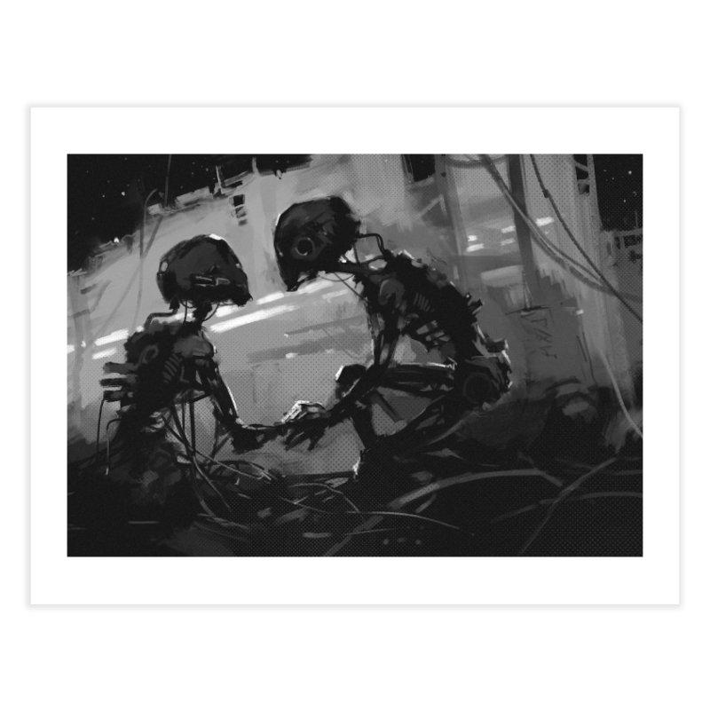 Stay Home Fine Art Print by NinjaJo's Artist Shop