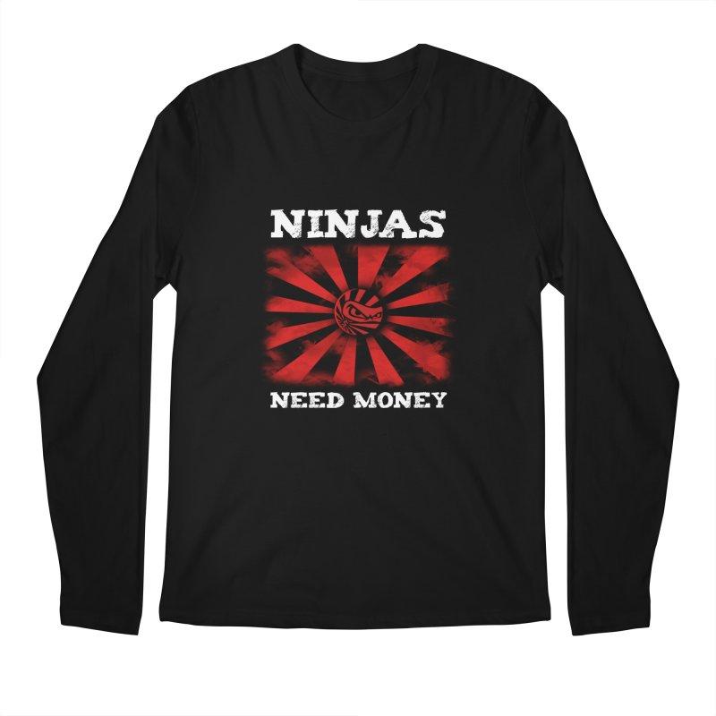 Ninjas Need Money Classic Men's Regular Longsleeve T-Shirt by Ninjas Need Money's Artist Shop