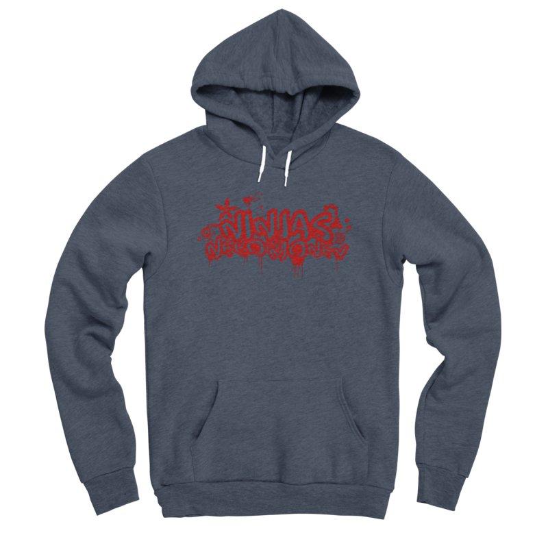 Urban Ninja Red Men's Pullover Hoody by Ninjas Need Money's Artist Shop