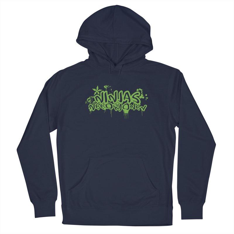 Urban Ninja Green Men's Pullover Hoody by Ninjas Need Money's Artist Shop