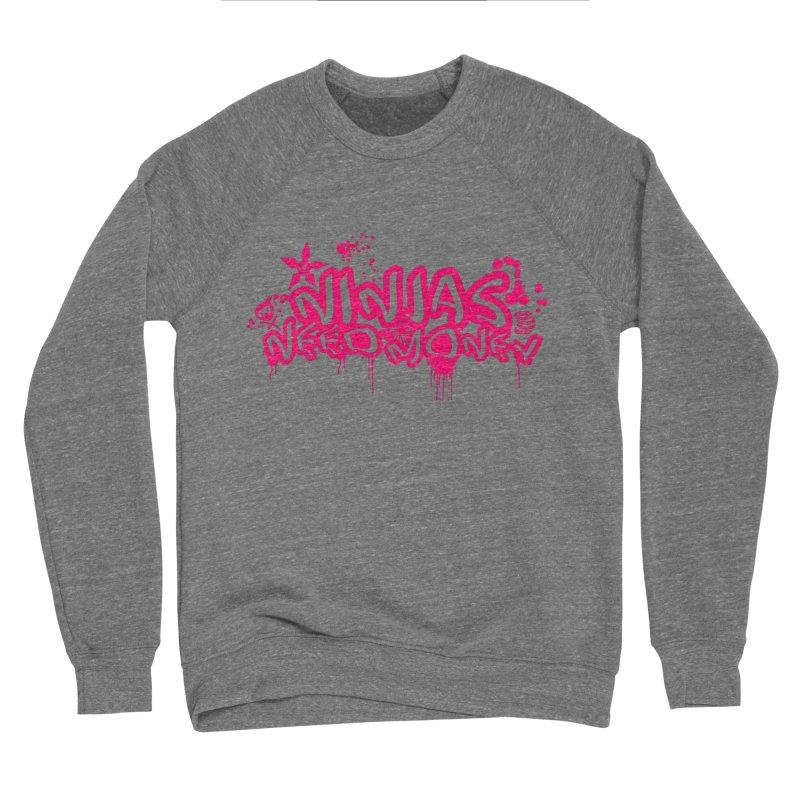 URBAN NINJA PINK Men's Sweatshirt by Ninjas Need Money's Artist Shop