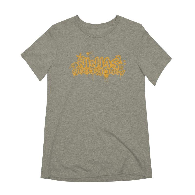 URBAN NINJA GOLD Women's Extra Soft T-Shirt by Ninjas Need Money's Artist Shop