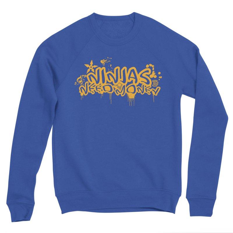 URBAN NINJA GOLD Men's Sweatshirt by Ninjas Need Money's Artist Shop