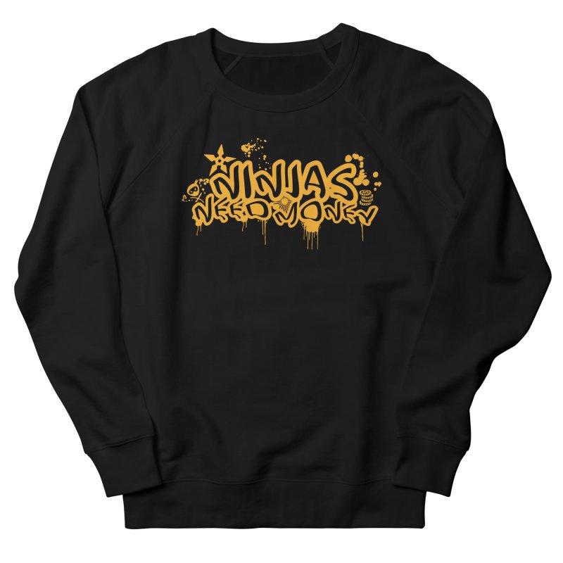 URBAN NINJA GOLD Women's French Terry Sweatshirt by Ninjas Need Money's Artist Shop