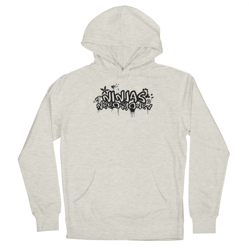 URBAN NINJA BLACK Women's Pullover Hoody by Ninjas Need Money's Artist Shop