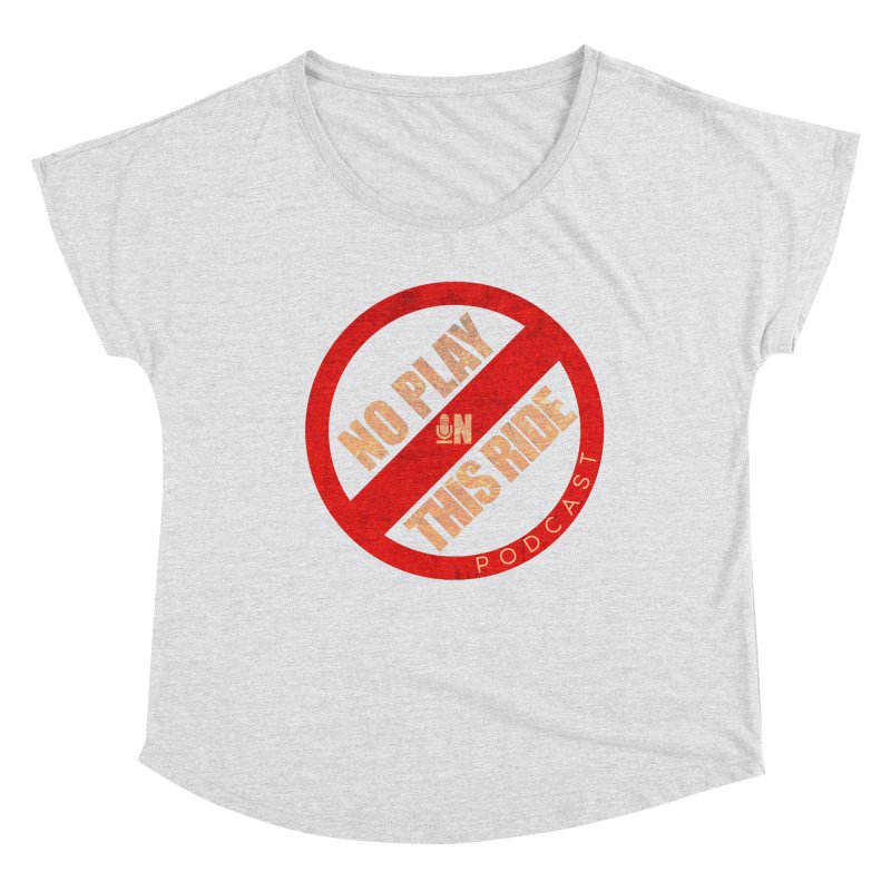 Noplay1 Women's Scoop Neck by NoPlayInThisRide's Artist Shop
