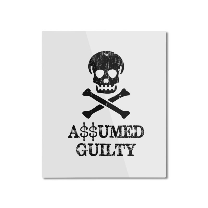 AG1 Home Mounted Aluminum Print by NoPlayInThisRide's Artist Shop