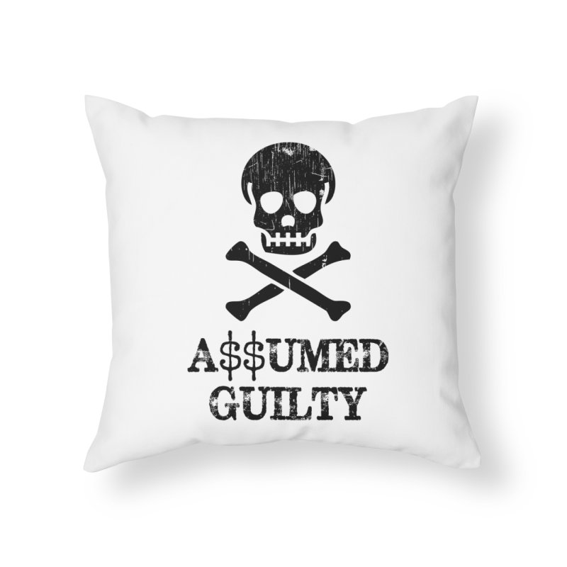 AG1 Home Throw Pillow by NoPlayInThisRide's Artist Shop