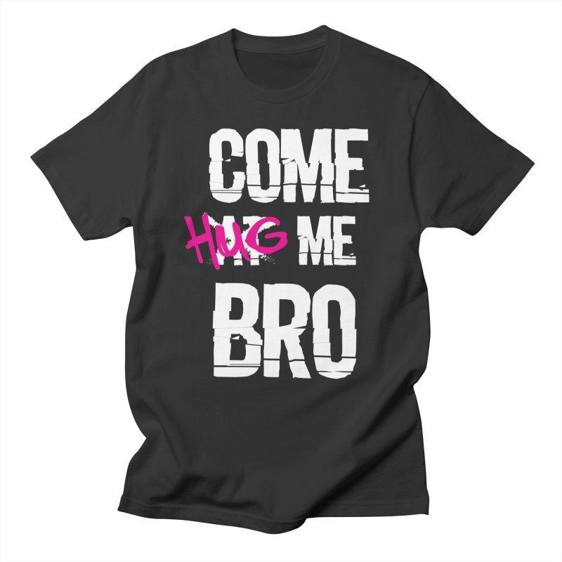 Come Hug Me Bro! in Men's Regular T-Shirt Smoke by Nocturnal Culture
