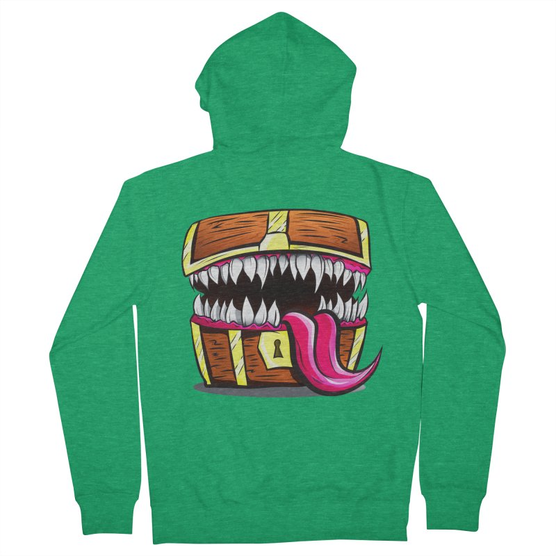 Mimic Monster!  Women's Zip-Up Hoody by Nocturnal Culture
