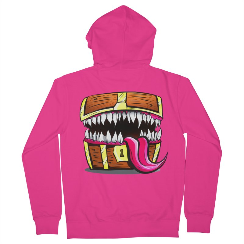 Mimic Monster!  Men's French Terry Zip-Up Hoody by Nocturnal Culture