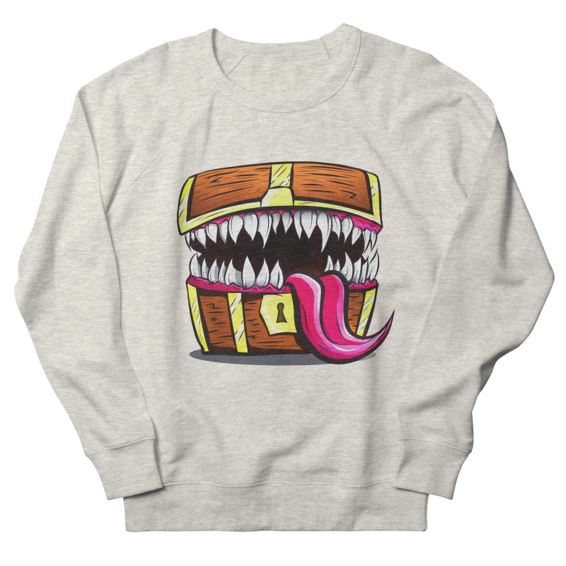 Mimic Monster!  Men's French Terry Sweatshirt by Nocturnal Culture