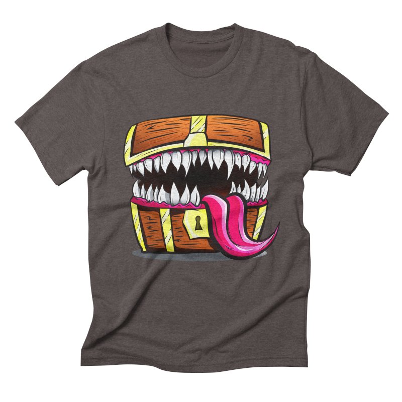 Mimic Monster!  Men's Triblend T-Shirt by Nocturnal Culture