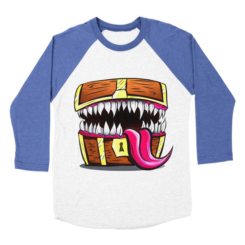 Mimic Monster!  Women's Baseball Triblend Longsleeve T-Shirt by Nocturnal Culture