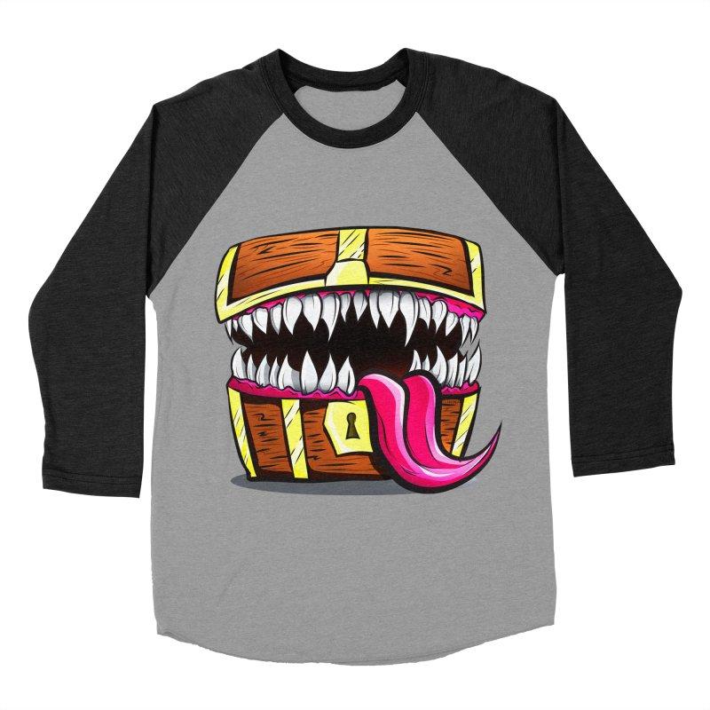 Mimic Monster!  Men's Baseball Triblend Longsleeve T-Shirt by Nocturnal Culture