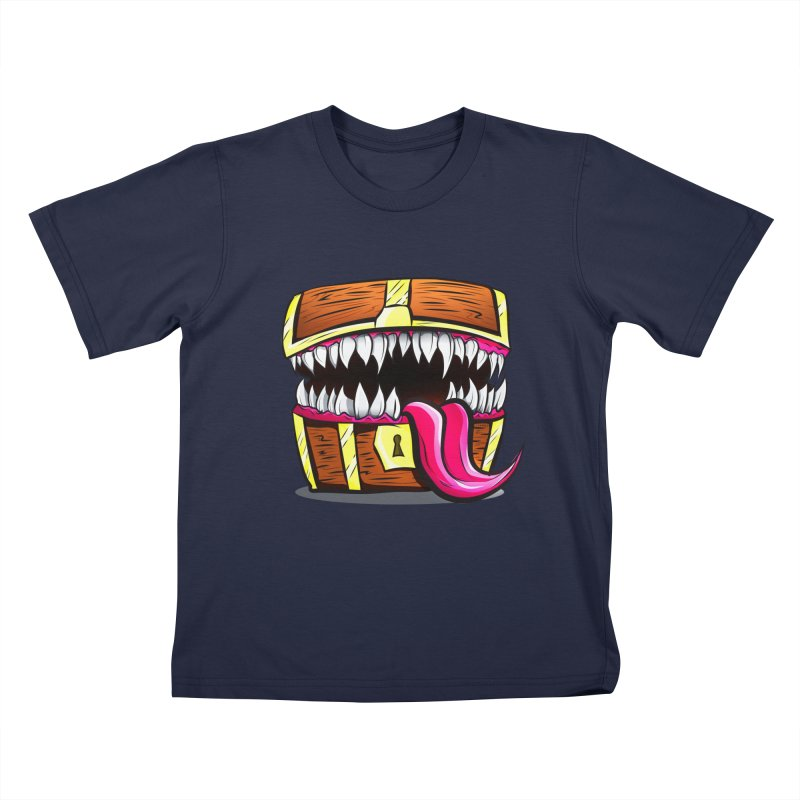 Mimic Monster!  Kids T-Shirt by Nocturnal Culture