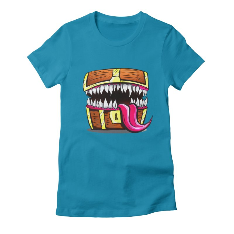 Mimic Monster!  Women's Fitted T-Shirt by Nocturnal Culture