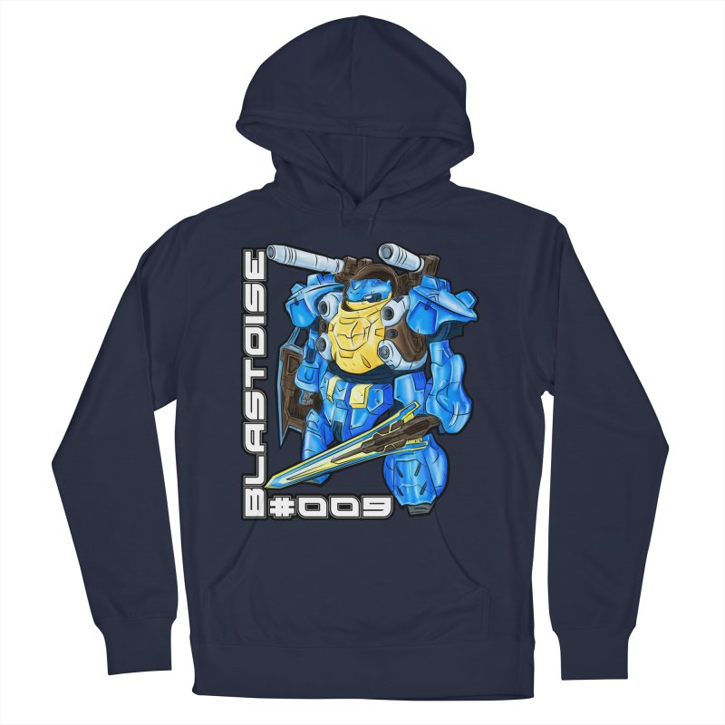 Blastoise Gundam Crossover Men's Pullover Hoody by Nocturnal Culture