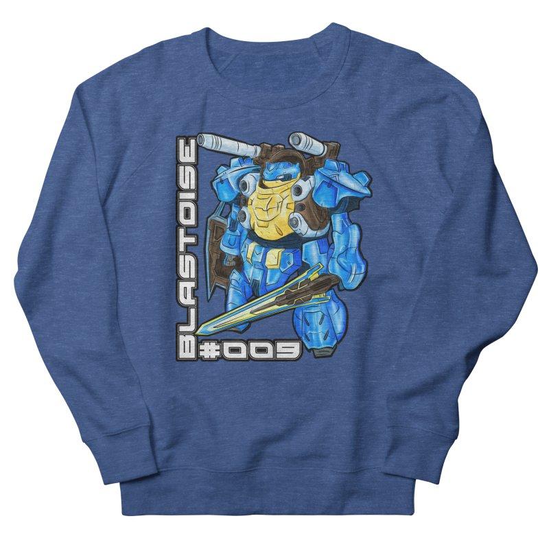 Blastoise Gundam Crossover Men's Sweatshirt by Nocturnal Culture
