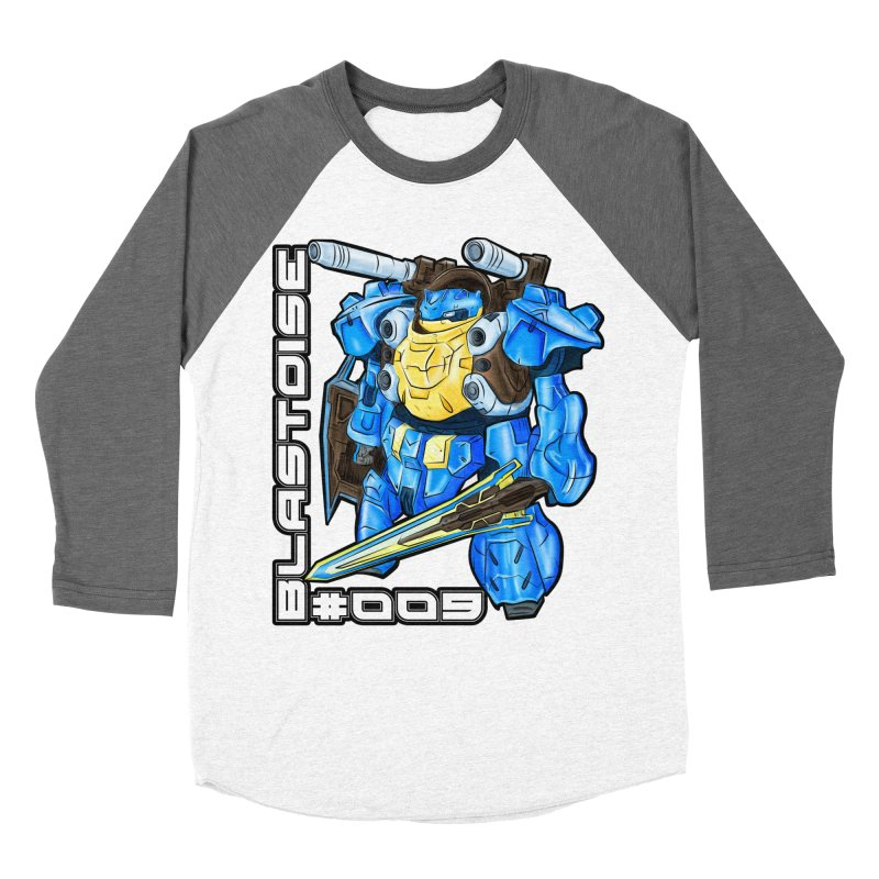 Blastoise Gundam Crossover Women's Longsleeve T-Shirt by Nocturnal Culture
