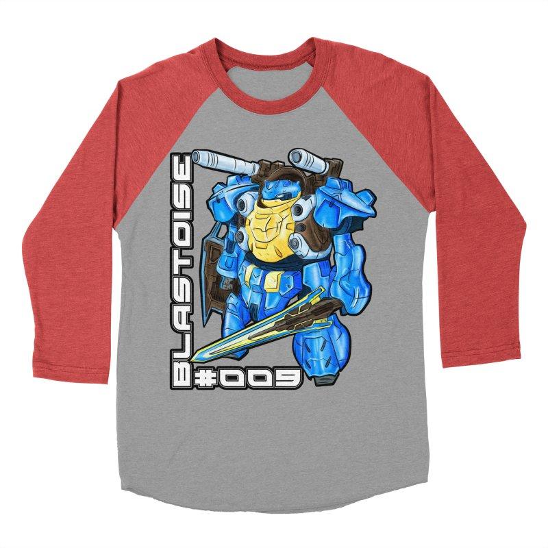 Blastoise Gundam Crossover Men's Longsleeve T-Shirt by Nocturnal Culture