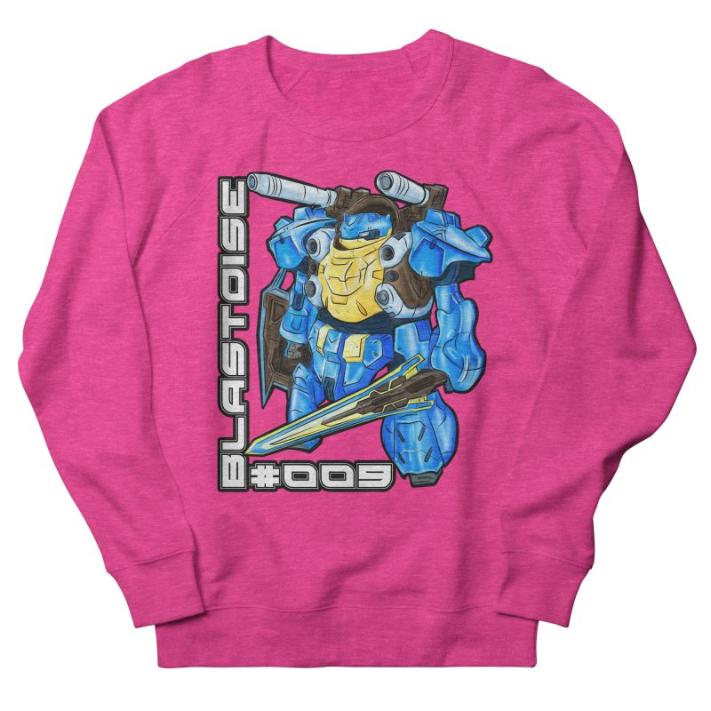 Blastoise Gundam Crossover Men's French Terry Sweatshirt by Nocturnal Culture