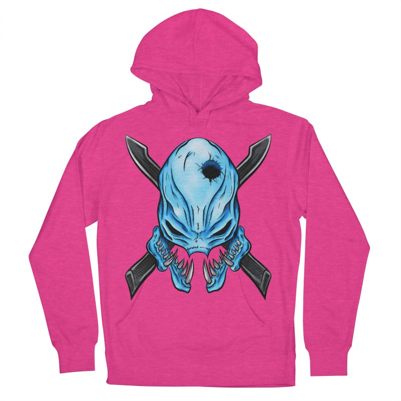 Halo Elite Skull Men's French Terry Pullover Hoody by Nocturnal Culture