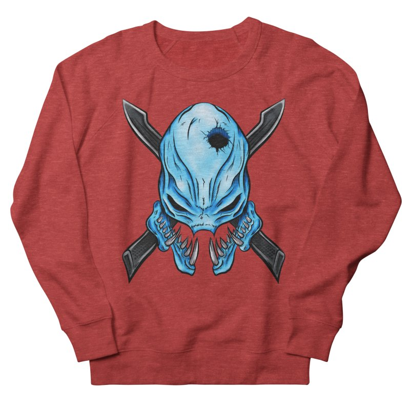 Halo Elite Skull Men's French Terry Sweatshirt by Nocturnal Culture