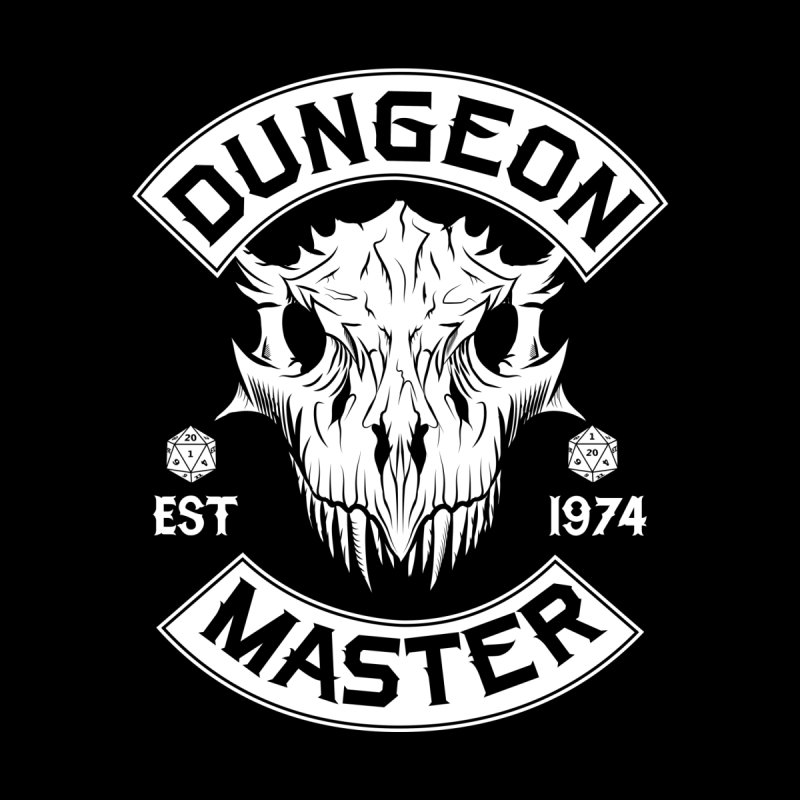 Dungeon Master Est 1974 Men's Longsleeve T-Shirt by Nocturnal Culture