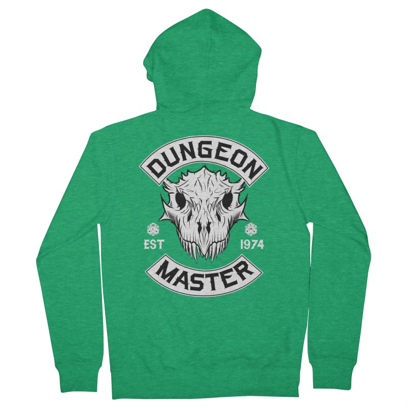 Dungeon Master Est 1974 Women's Zip-Up Hoody by Nocturnal Culture
