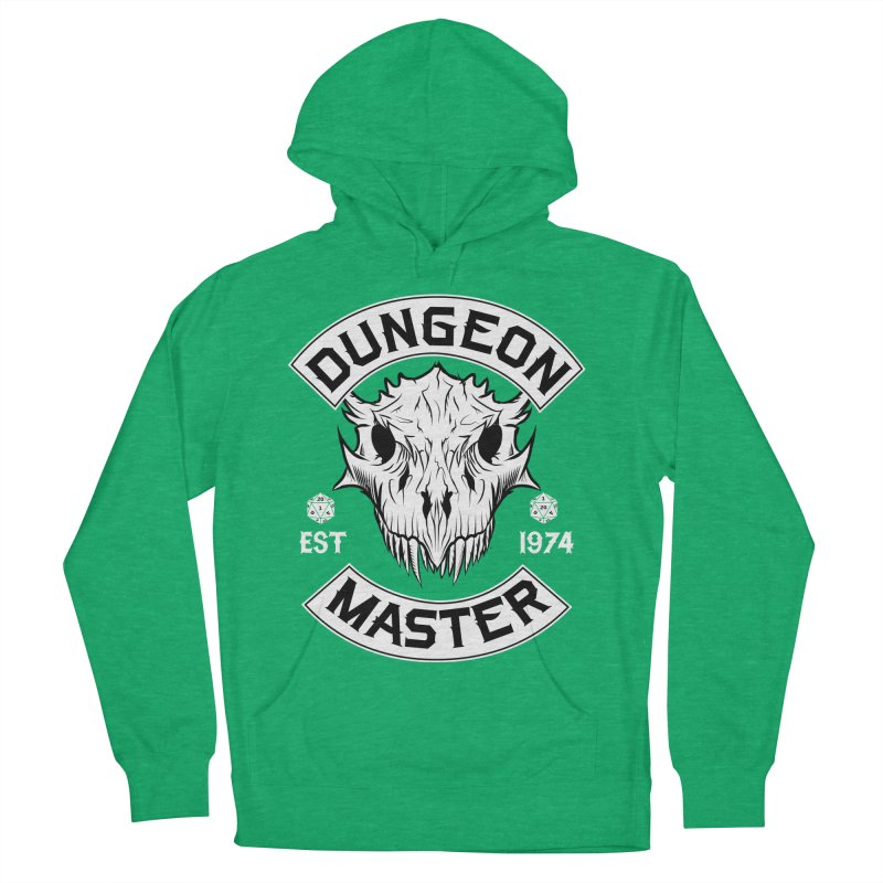 Dungeon Master Est 1974 Men's French Terry Pullover Hoody by Nocturnal Culture