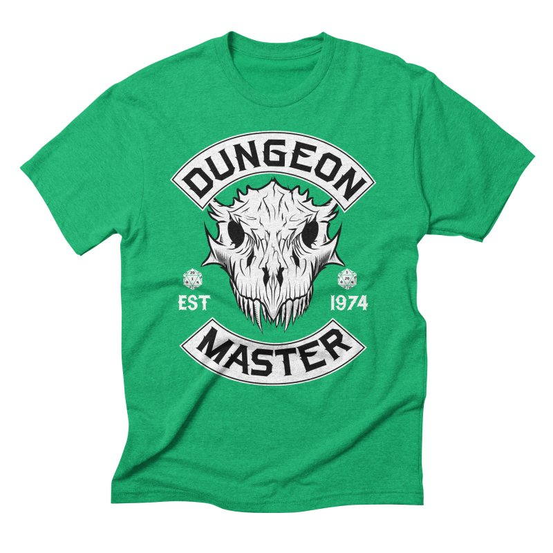Dungeon Master Est 1974 Men's Triblend T-Shirt by Nocturnal Culture