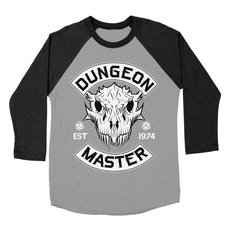 Dungeon Master Est 1974 Women's Baseball Triblend Longsleeve T-Shirt by Nocturnal Culture