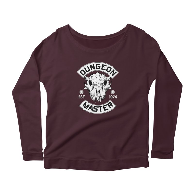 Dungeon Master Est 1974 Women's Longsleeve T-Shirt by Nocturnal Culture