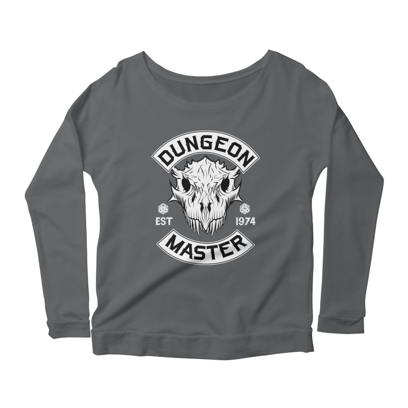 Dungeon Master Est 1974 Women's Scoop Neck Longsleeve T-Shirt by Nocturnal Culture