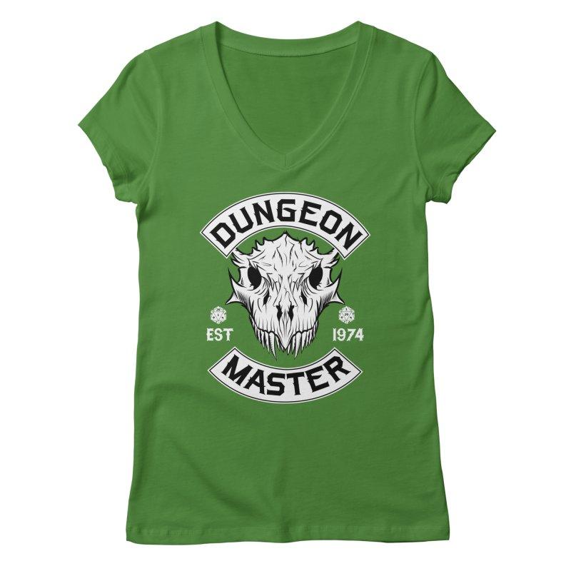 Dungeon Master Est 1974 Women's Regular V-Neck by Nocturnal Culture
