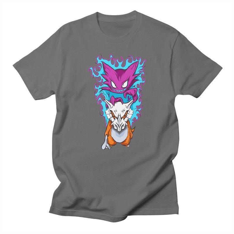 Cubone Vs Haunter  Men's T-Shirt by Nocturnal Culture
