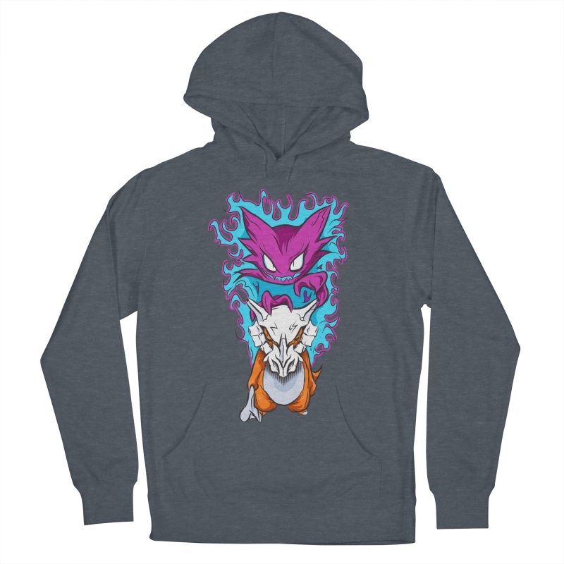 Cubone Vs Haunter  Men's French Terry Pullover Hoody by Nocturnal Culture