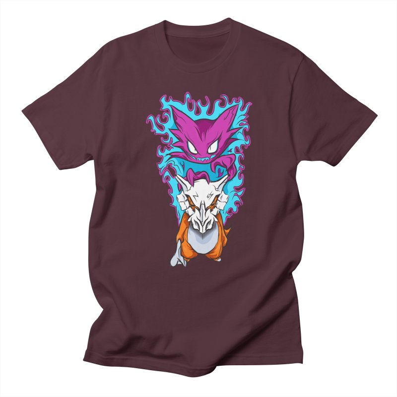 Cubone Vs Haunter  Men's Regular T-Shirt by Nocturnal Culture