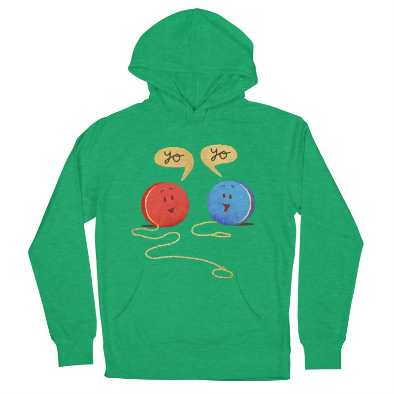 YO Women's French Terry Pullover Hoody by Nohbody's Artist Shop