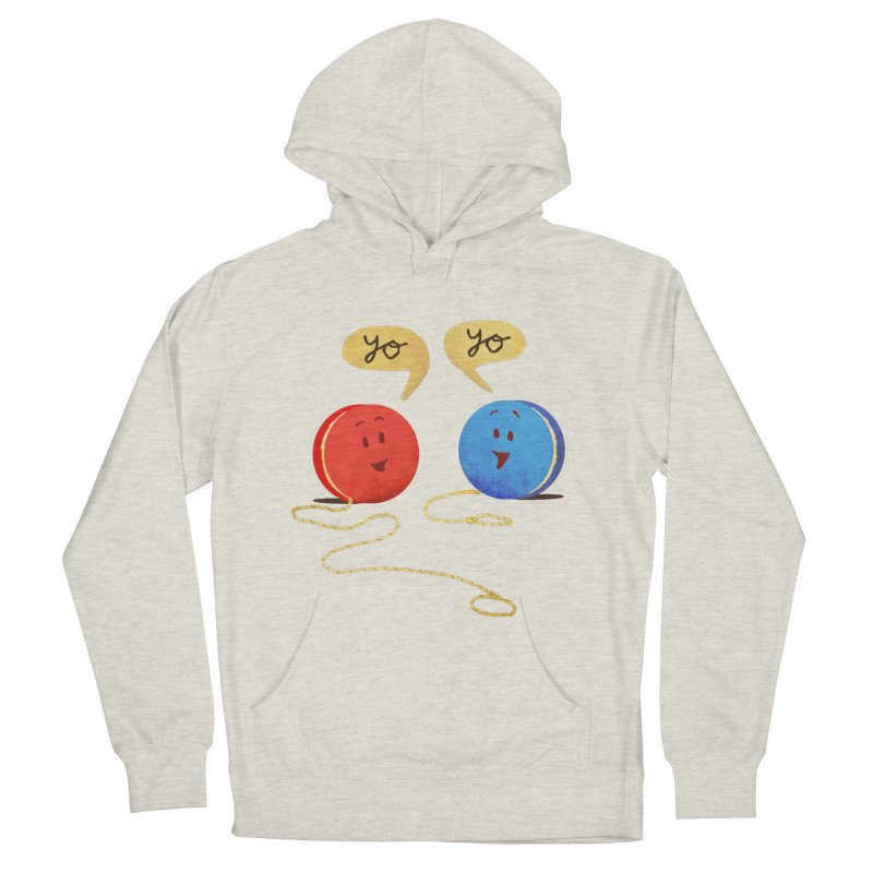 YO Men's French Terry Pullover Hoody by Nohbody's Artist Shop
