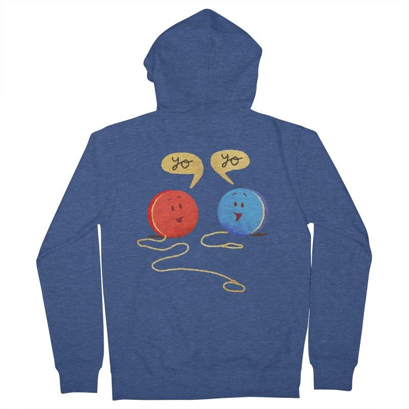 YO Men's Zip-Up Hoody by Nohbody's Artist Shop