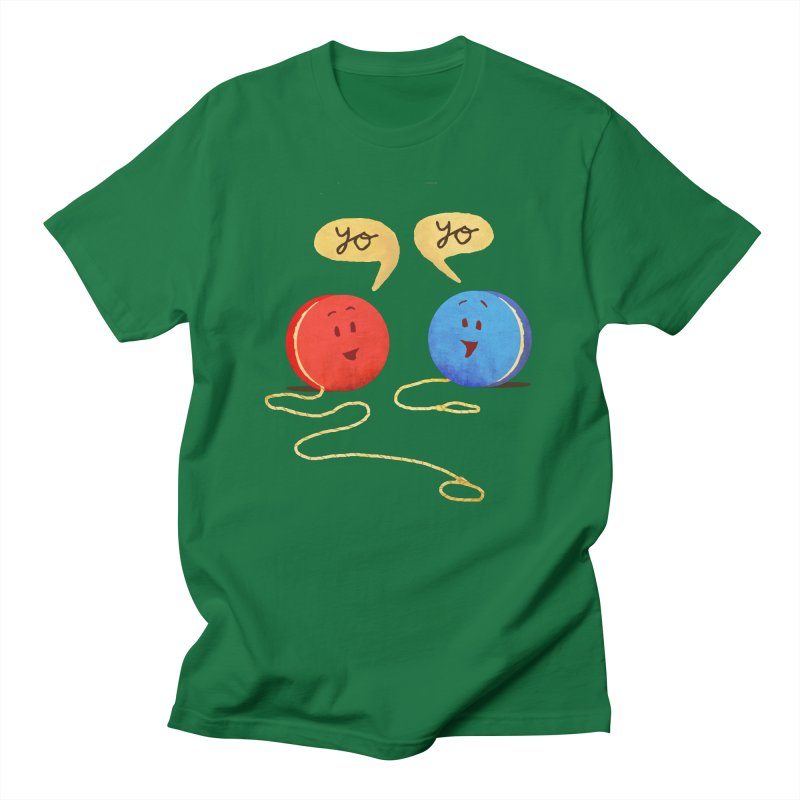 YO Men's Regular T-Shirt by Nohbody's Artist Shop