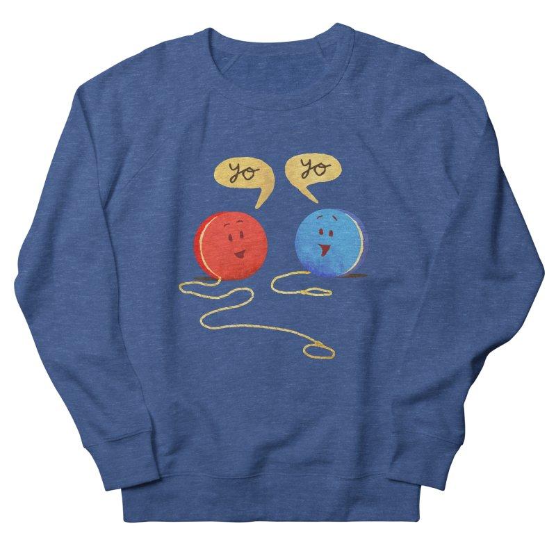 YO Women's French Terry Sweatshirt by Nohbody's Artist Shop